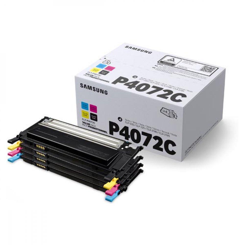 Originální tonery Samsung CLT-P4072C, SU382A, 4-pack