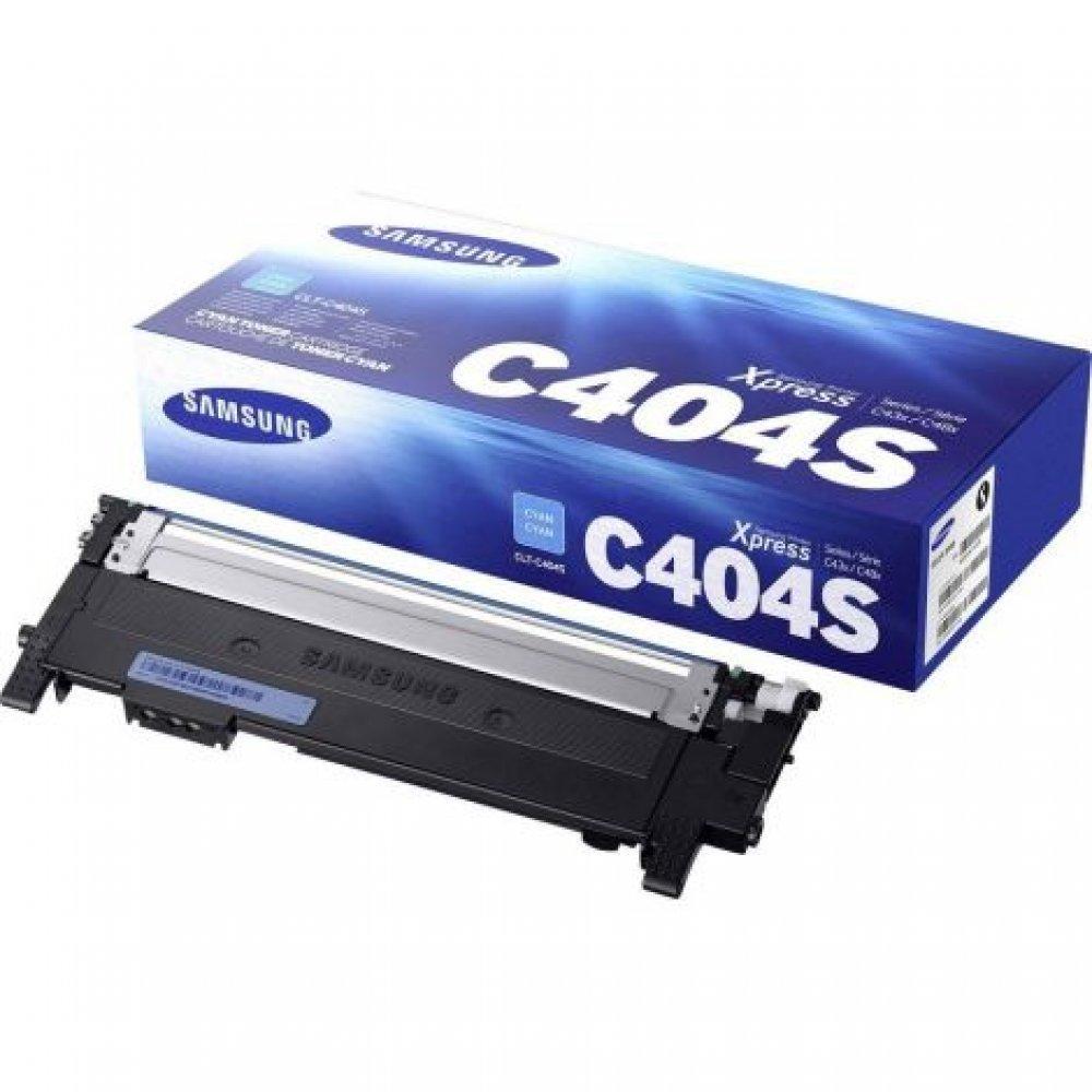 Toner Samsung CLT-C404S, azurová (cyan), originál